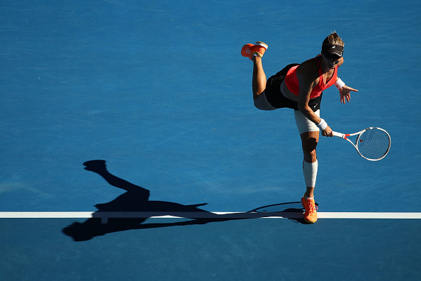 Lucic-Baroni won the hearts of the crowd in Melbourne (Photo by Cameron Spencer / Getty Images)