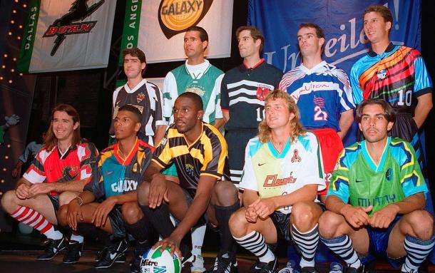 Presentación oficial equipos de MLS 1996 (planetafobal.com)