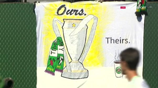 La Timbers Army se mofa de la hinchada de Seattle tras conquistar la MLS Cup // Imagen: Eurosport