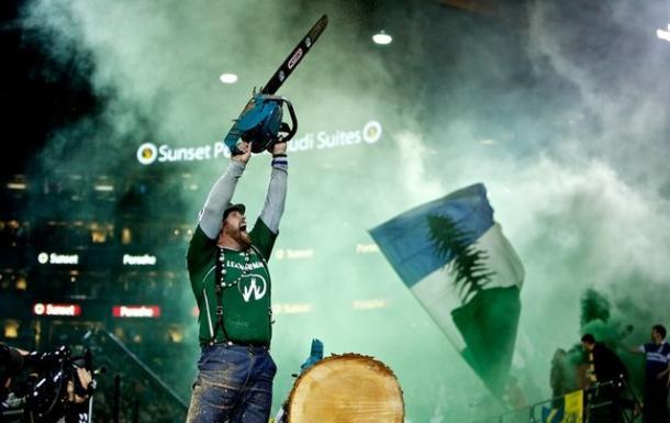 Timber Joey siempre da espectáculo // Imagen: mlssocceritalia.com