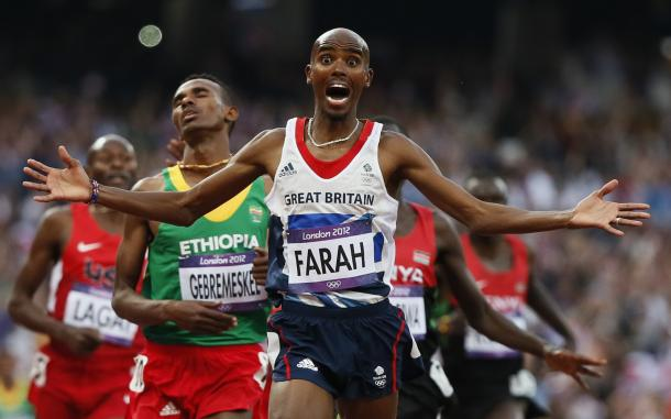 Will Mo Farah defend his 5,000m and 10,000m titles in Rio de Janeiro? | Photo: Getty Images
