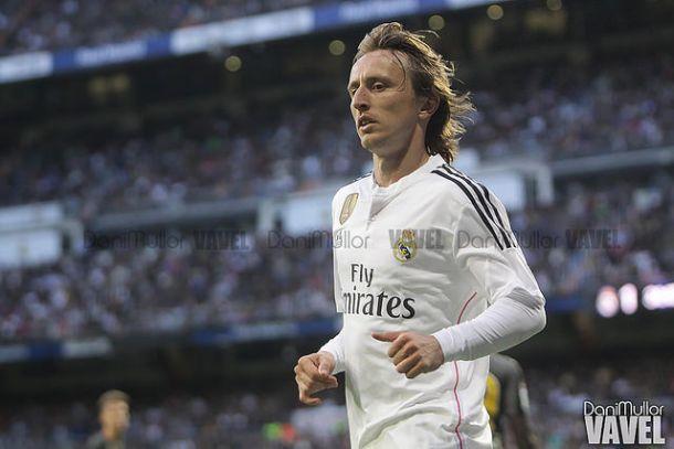 Luka Modric estuvo cinco meses alejado de los terrenos de juego | Foto: Dani Mullor (VAVEL España)