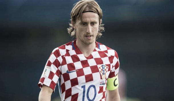 Luka Modric con la selección de Croacia | Foto: HNS