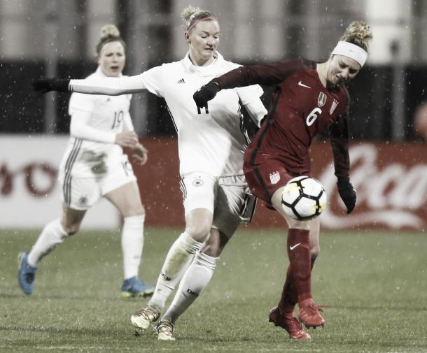 US Women's National Team vs. France in SheBelieves Cup
