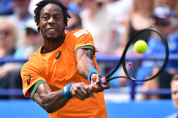Monfils was participating in his first-ever grass court final (Photo by Glyn Kirk / Getty)