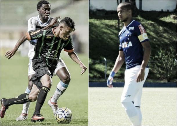 Matheusinho e Cerqueira estão de volta a seleção. (Fotos: Carlos Cruz/América-MG e Washington Alves/Lightpress/Cruzeiro)