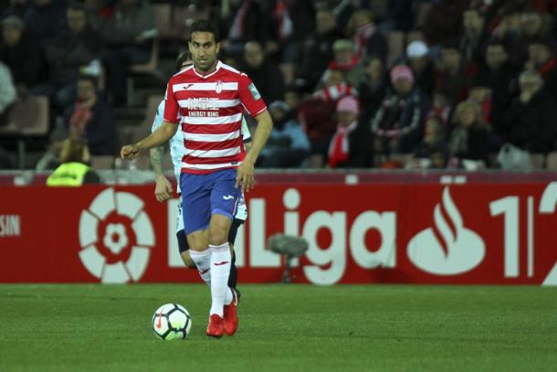 Montoro, centrocampista del Granada CF | Foto: Antonio L. Juárez
