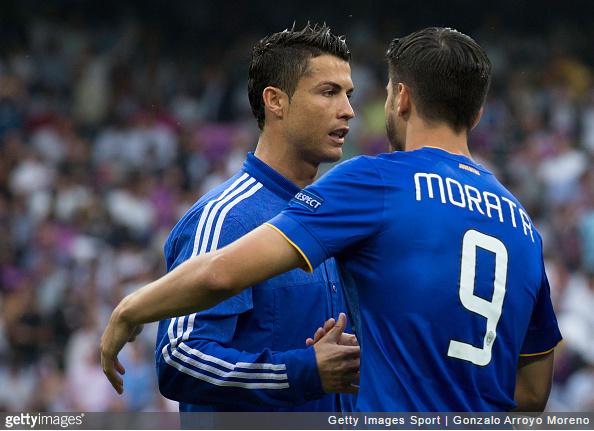 Could Ronaldo and Morata be reunited?