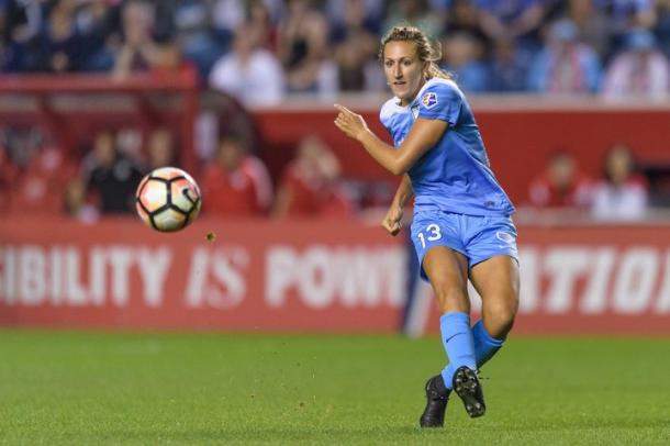 Morgan Proffitt's heading to Washington. | Photo: Chicago Red Stars