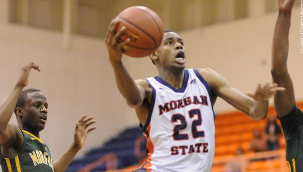Carr is the Mid-Eastern Athletic Conference Defensive Player of the Year/Photo: Pressbox Online website
