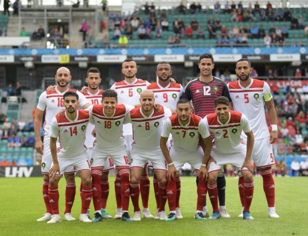 El combinado marroquí viene con la cabeza en alto en su regreso al Mundial   Foto: @EnMaroc