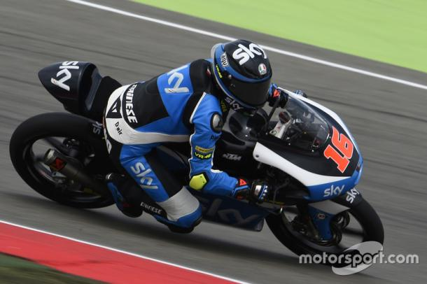 Sky Racing VR46 rider Andrea Migno penalised and demoted one position but remained on podium - www.motorsport.com