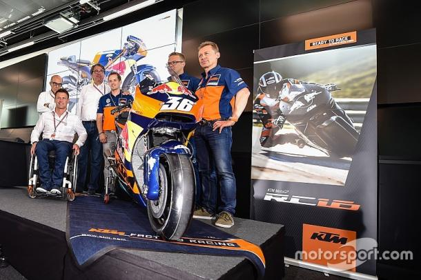 Red Bull and KTM launch the RC16 in its livery at the Red Bull Ring ahead of the Austrian GP - www.motorsport.com