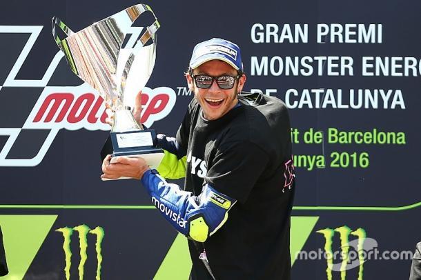 Rossi celebrates first victory in Barcelona since 2009 - www.motorsport.com