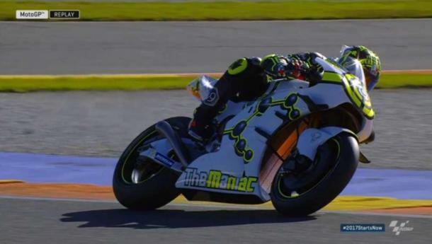 Andrea Iannone sulla sua Suzuki