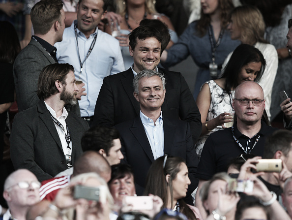 Mourinho managed England to victory in Sunday's Soccer Aid match. (Photo: Alex Livesey/ Getty Images)