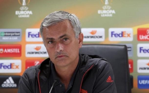 Mourinho en rueda de prensa. Fotografía: Getty Images