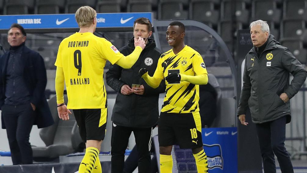 Youssoufa Moukoko se transformó en el jugador maás joven de la historia por Bundesliga | Foto: @BVB