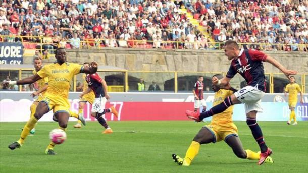 Il francese Mounier in azione contro il Frosinone | Source Getty Image