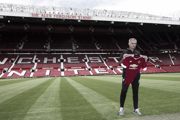 Mourinho was unveiled as United boss on Tuesday | Photo: Anadolu Agency