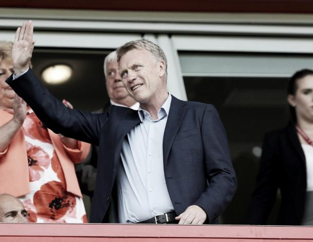 The 53-year-old looked on from the stands at the New York Stadium. (Photo: Sunderland AFC)