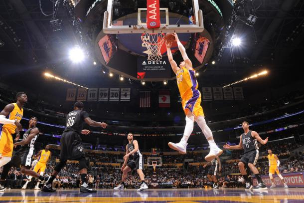 Timofey Mozgov finished with 20 points. | Photo: Getty Images