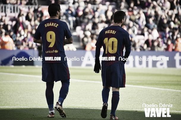Messi y Suárez   Noelia Déniz - VAVEL
