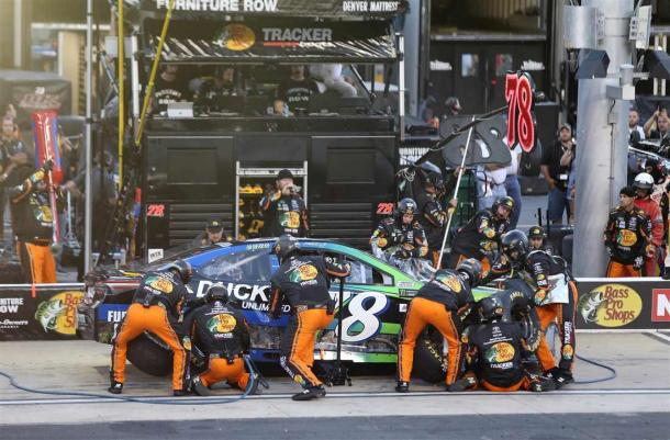 Pit road catastrophes cost Truex Jr any chance of winning the race | Picture Credit: Jerry Markland - Getty Images