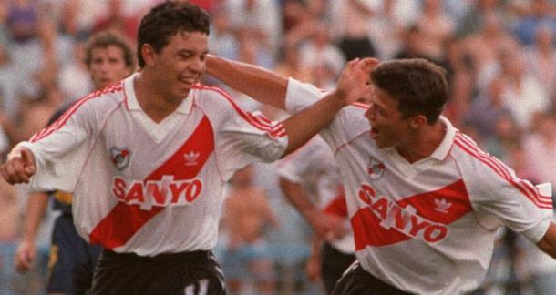 El Muñe en sus inicios, ganado un Superclásico en 1994 (Foto:La Máquina Radio).