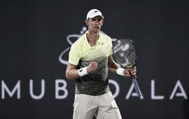 Anderson comienza un buen año en Abu Dhabi. Image: Zimbio