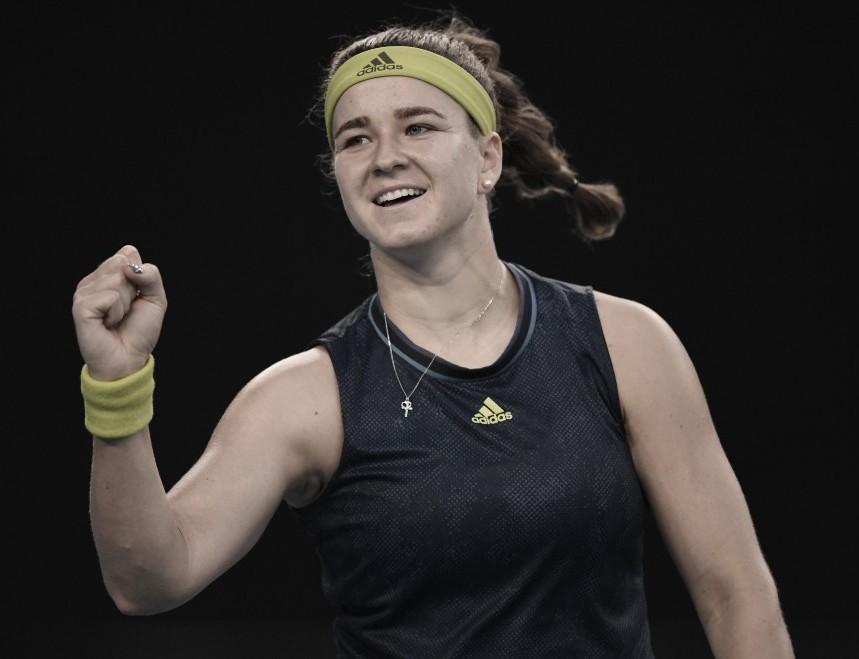 La checa Karolina Muchova será rival de Barty por un lugar en la semifinal. Foto: @AustralianOpen