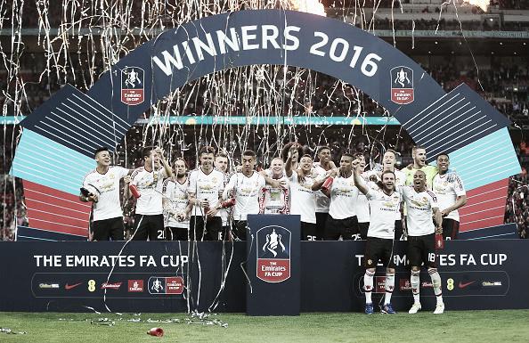 Last month's FA Cup triumph was United's first piece of silverware since 2013 | Photo: Alex Morton - The FA