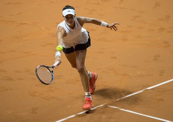 Muguruza has not gone beyond the second round in Madrid on four previous main draw appearances (Photo by Anadolu Agency / Getty Images)