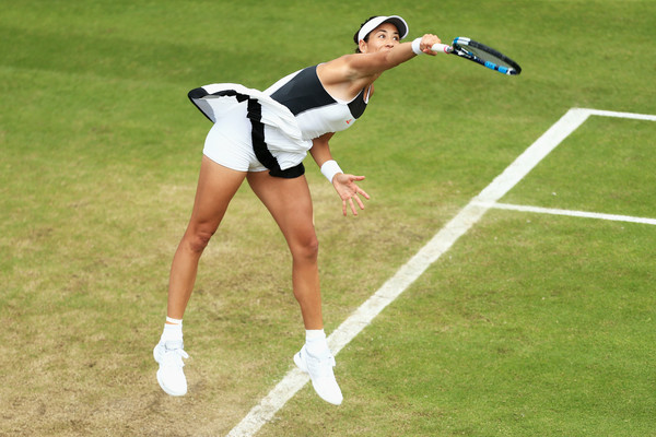 The world number 14's grass court campaign got off to a good start in Birmingham (Photo by Ben Hoskins / Getty)