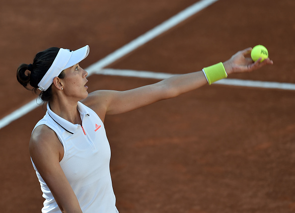 Muguruza was unable to reach her first final since the French Open last year (Photo by Giuseppe Bellini / Getty)