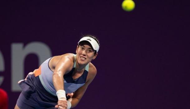 The Spaniard came through with the only two holds of the final set, which proved to be the difference/Photo: WTA Tour