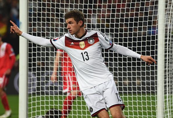 Thomas Müller, máximo goleador de Alemania en la clasificación. // Foto: Getty Images