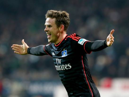 Nicolai Müller following his 90th minute goal (Photo: Getty)