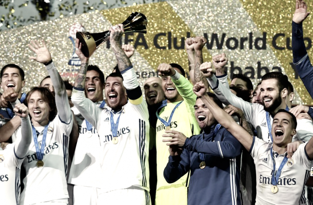 El Real Madrid C.F proclamado campeón del Mundialito de Clubes | Foto: Página web Real Madrid