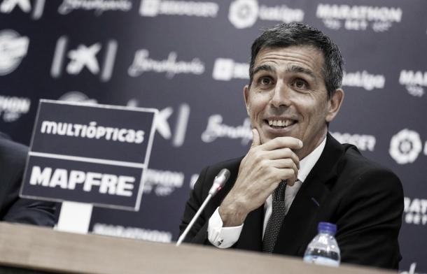 López Muñiz, líder del Deportivo Alavés. FOTO: La Liga Santander