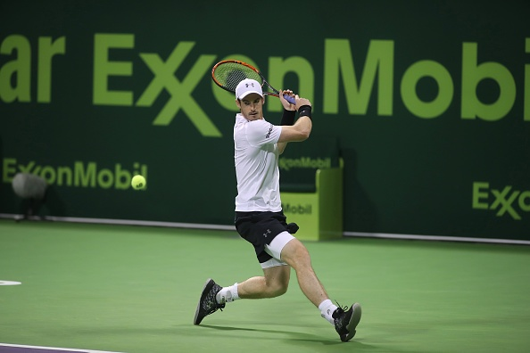Murray had a tough test against Melzer (Photo by Karim Jaafar / Getty Images)