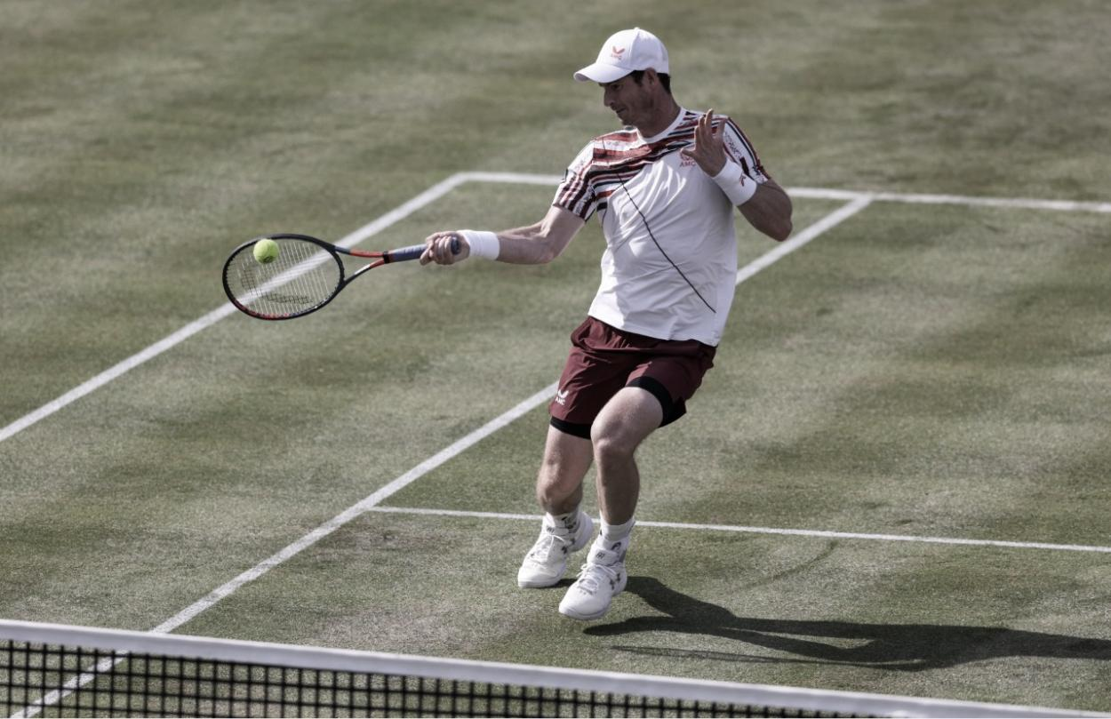 Murray caiu na segunda rodada do cinch Championships (Foto: Divulgação/ATP)