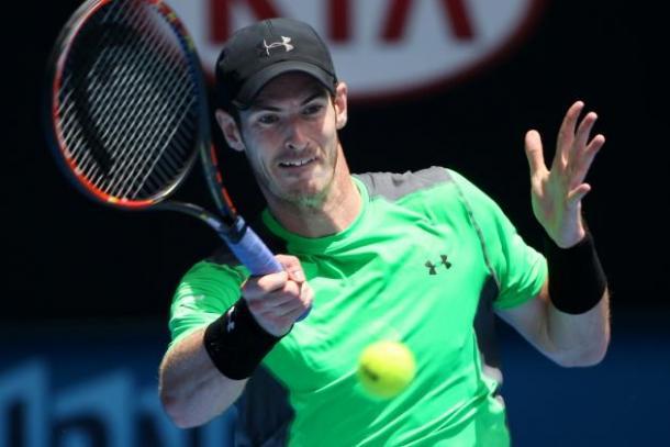Andy Murray en Abierto de Australia. Foto: australianopen.com