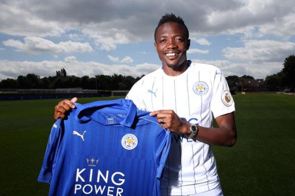 Musa has moved to the King Power Stadium after months of negotiations | Photo: Getty