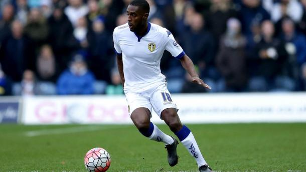 Mustapha Carayol in action for Leeds United last season | Photo: Sky Sports