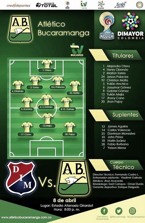 Fotomontaje: Club Atlético Bucaramanga