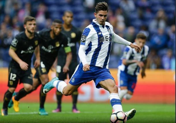 André Silva marcou o último golo desta temporada no Estádio do Dragão