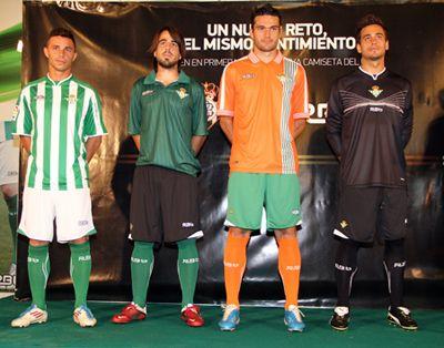 Equipaciones 2011-12 RBB // Foto: www.fiebrebetica.com