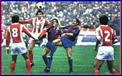 Alonso con la camiseta del Barcelona (Foto: FC Barcelona historicos)