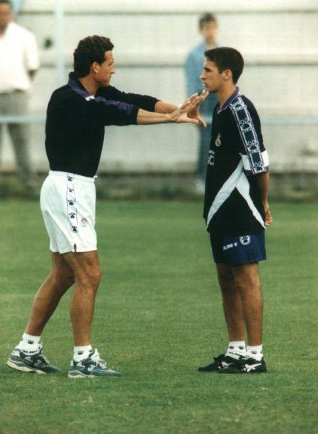 Valdano y Raúl (foto:publimetro)